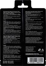 Schwarze Peel-Off Gesichtsmaske mit Bambuskohle, Pflanzenextrakten, Algenextrakten, Aloe Vera und Hyaluronsäure - Gabriella Salvete Black Peel-Off Mask — Bild N2