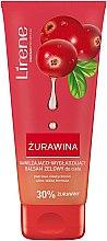 Düfte, Parfümerie und Kosmetik Feuchtigkeitsspendende und glättende Körperlotion-Gel mit 30% Cranberry - Lirene Dermo Program