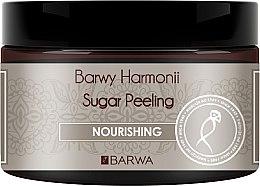 Düfte, Parfümerie und Kosmetik Pflegendes Zucker-Körperpeeling mit Sonnenblumenöl und Sheabutter - Barwa Harmony Sugar Peeling Nourihing