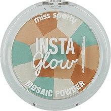 Düfte, Parfümerie und Kosmetik Mosaik-Puder - Miss Sporty Insta Glow Mosaic Powder