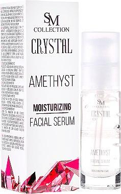 Anti-Aging Gesichtsserum Amethyst - Hristina Cosmetics SM Crystal Amethyst Moisturizing Face Serum — Bild N1