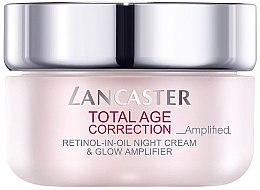 Düfte, Parfümerie und Kosmetik Anti-Aging Nachtcreme - Lancaster Total Age Correction Amplified Retinol -In-Oil Night Cream