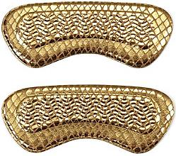 Düfte, Parfümerie und Kosmetik Weiche Schuheinsätze gold - Avon