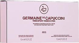 Düfte, Parfümerie und Kosmetik Anti-Falten Augencreme für Tag und Nacht - Germaine de Capuccini Timexpert Rides Eye Contour Treatment Night & Day (2 x 10 ml)