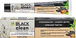 Düfte, Parfümerie und Kosmetik Zahnfleischschützende und aufhellende Zahnpasta mit schwarzer Aktivkohle - Vitex Black Clean