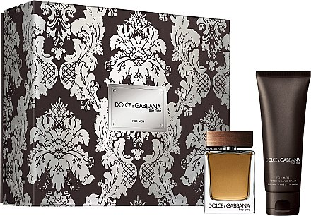 Dolce & Gabbana The One for Men - Duftset (Eau de Toilette 50ml + After Shave Balsam 75ml) — Bild N1