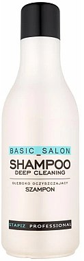 Tiefenreinigendes Shampoo - Stapiz Basic Salon Deep Cleaning Shampoo — Bild N1
