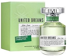 Düfte, Parfümerie und Kosmetik Benetton United Dreams Live Free - Eau de Toilette