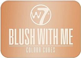 Düfte, Parfümerie und Kosmetik Rouge Quartett - W7 Blush With Me Color Cubes