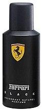Düfte, Parfümerie und Kosmetik Ferrari Black - Deospray