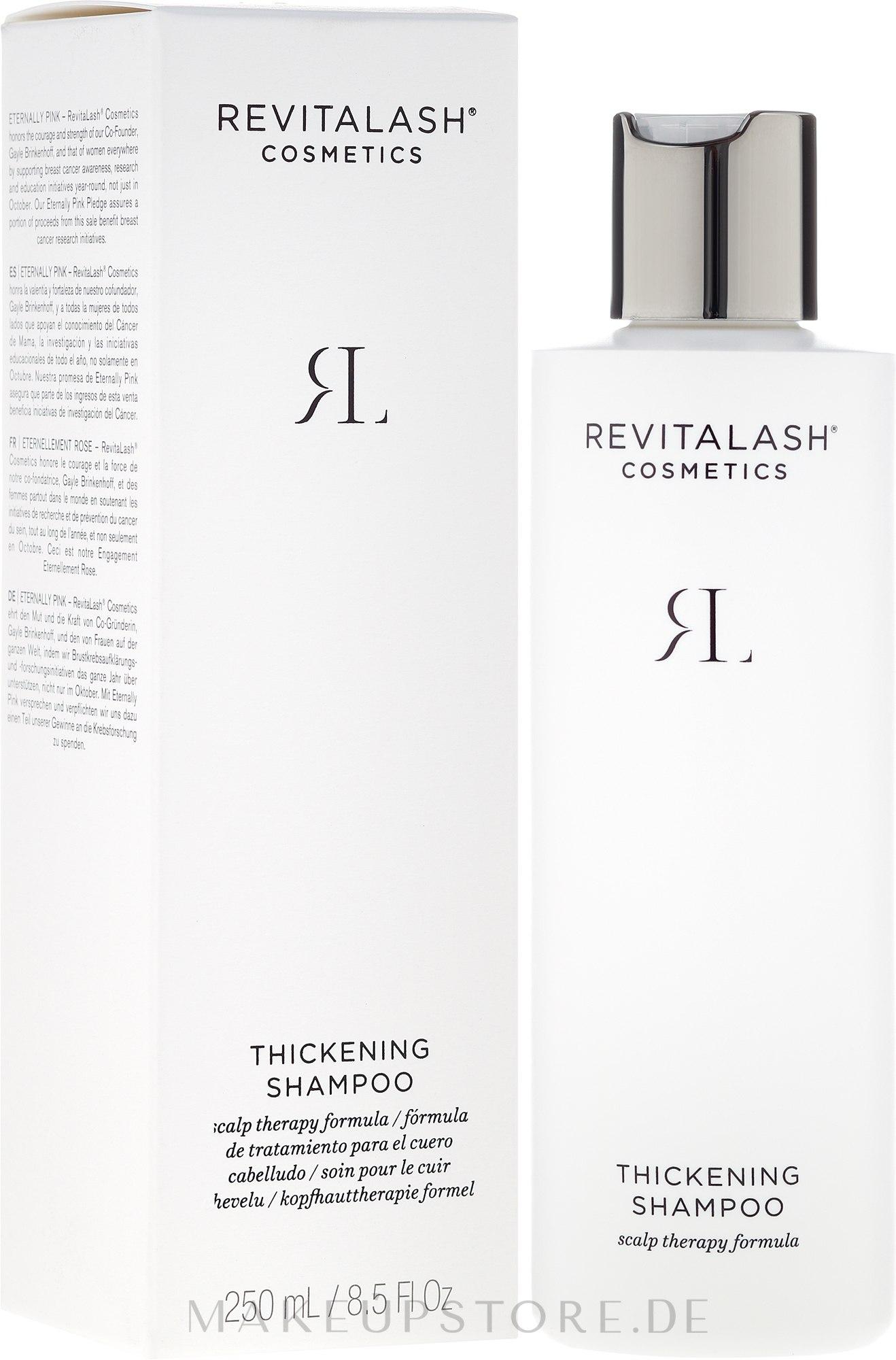 Haarverdichtendes Shampoo - RevitaLash Thickening Shampoo — Bild 250 ml
