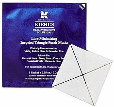 Düfte, Parfümerie und Kosmetik Innovative Patch-Maske mit Hyaluronsäure zur sofortigen Behandlung von feinen Linien - Kiehl's Line Minimizing Targeted Triangle Patch-Masks