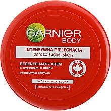 Intensiv pflegende Gesichts- und Körpercreme für sehr trockene Haut - Garnier Face And Body Cream — Bild N1