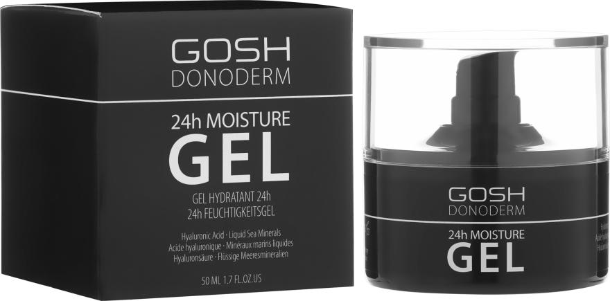 Feuchtigkeitsspendendes Gesichtsgel - Gosh Donoderm 24h Moisture Gel Prestige — Bild N1