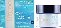 Düfte, Parfümerie und Kosmetik Verjüngendes und sauerstoffhaltiges Gesichtscreme-Gel für die Nacht mit Buschpflaumen-Extrakt - Lirene Dermo Program Oxy In Aqua