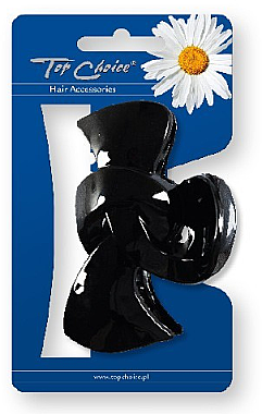 Haarklammer schwarz - Top Choice Hair Claw Clip 25563 — Bild N2