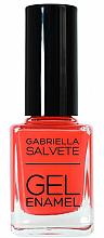 Düfte, Parfümerie und Kosmetik Nagellack mit Gel-Effekt - Gabriella Salvete Gel Enamel