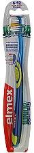 Düfte, Parfümerie und Kosmetik Kinderzahnbürste 6-12 Jahre weich blau-gelb - Elmex Junior Toothbrush