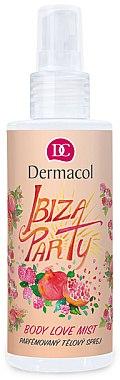 Parfümierter Körpernebel mit Granatapfel- und Himbeeraroma - Dermacol Body Love Mist Ibiza Party — Bild N1