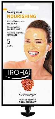 Gesichtsmaske - Iroha Nature Nourishing Honey Creamy Mask — Bild N1