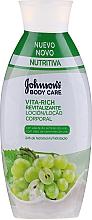 Düfte, Parfümerie und Kosmetik Revitalisierende Körperlotion mit Traubenkernöl - Johnson's® Body Care Vita-Rich Lotion