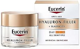 Düfte, Parfümerie und Kosmetik Antifalten Tagescreme SPF 30 - Eucerin Anti-Age Elasticity+Filler Day Cream SPF 30