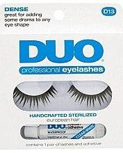 Düfte, Parfümerie und Kosmetik Wimpernpflegeset (Wimpernkleber 2,5g + Künstliche Wimpern 2St.) - Ardell Duo Lash Kit Professional Eyelashes Style D13