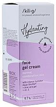 Düfte, Parfümerie und Kosmetik Feuchtigkeitsspendende Gel-Creme für normale und Mischhaut mit Aloe Vera und Vitamin E - Kili-g Hydrating Face Gel Cream