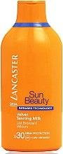 Düfte, Parfümerie und Kosmetik Bräunungslotion SPF 30 - Lancaster Sun Beauty Velvet Tanning Milk SPF 30