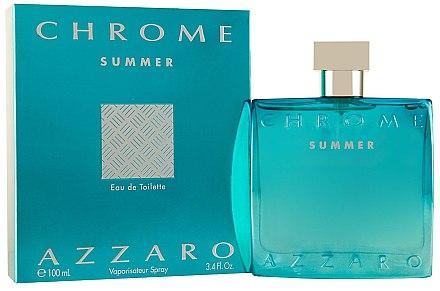 Azzaro Chrome Summer - Eau de Toilette — Bild N1
