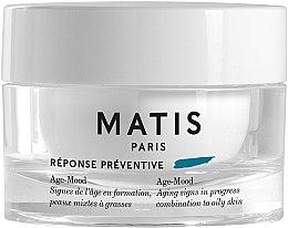 Düfte, Parfümerie und Kosmetik Feuchtigkeitsspendende und mattierende Anti-Aging Gesichtscreme für normale und Mischhaut - Matis Reponse Preventive Age-Mood