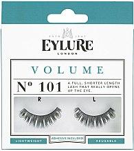 Düfte, Parfümerie und Kosmetik Künstliche Wimpern №101 mit Kleber - Eylure Volume False Eyelashes No.101