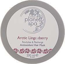 Düfte, Parfümerie und Kosmetik Antioxidative Haarmaske mit Blaubeerextrakt - Avon Planet Spa Arctic Lingonberry Hair Mask