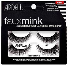 Düfte, Parfümerie und Kosmetik Künstliche Wimpern Set 811 - Ardell Faux Mink Multipack Twin Pack 811