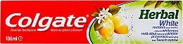 Düfte, Parfümerie und Kosmetik Zahnpasta Herbal White - Colgate Herbal White With Lemon Oil
