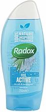 Düfte, Parfümerie und Kosmetik Duschgel mit Meersalz und Zitronengras - Radox Feel Active Shower Gel
