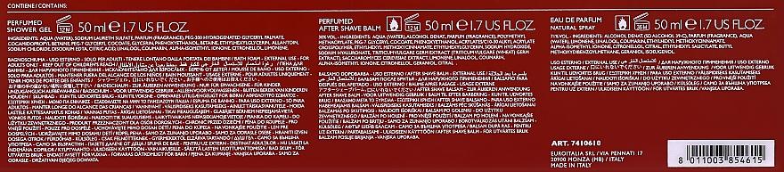 Versace Eros Flame - Duftset (Eau de Parfum 50ml + Duschgel 50ml + After Shave Balsam 50ml) — Bild N3