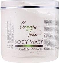 Düfte, Parfümerie und Kosmetik Gesichts- und Körpermaske mit grünem Tee - Hristina Cosmetics Sezmar Professional Body Mask Green Tea