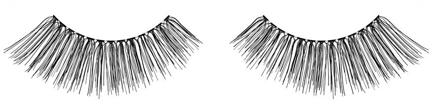 Künstliche Wimpern - Ardell Natural Eye Lashes Black 111 — Bild N2