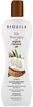 Düfte, Parfümerie und Kosmetik 3in1 Shampoo, Haarspülung und Duschgel mit Bio Kokosöl - Biosilk Silk Therapy Shampoo Conditioner & Body Wash 3 in 1