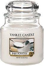 """Düfte, Parfümerie und Kosmetik Duftkerze im Glas """"Baby Powder"""" - Yankee Candle Baby Powder"""
