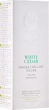 Düfte, Parfümerie und Kosmetik Volumen-Haarmaske mit weißer Zeder - Natura Siberica Copenhagen White Cedar Volume Hair Mask