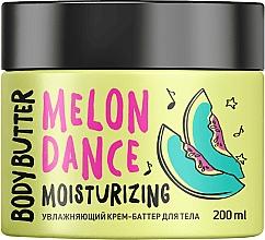 Düfte, Parfümerie und Kosmetik Feuchtigkeitsspendende Körpercreme-Butter mit Wassermelonenduft - MonoLove Bio Melon Dance Body Butter
