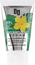 Düfte, Parfümerie und Kosmetik Gesichtsreinigungsgel mit Gurkenextrakt für alle Hauttypen - AA Cosmetics Bio Natural Vegan Face Cleansing Gel