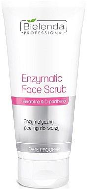 Enzym-Peeling für das Gesicht - Bielenda Professional Face Program Enzymatic Face Scrub Keratoline And D-panthenol — Bild N1