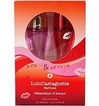 Düfte, Parfümerie und Kosmetik Lulu Castagnette Sms Love Declaration - Duftset (Eau de Toilette 2x30ml)