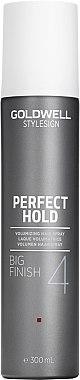 Volumen Haarspray Haltegrad 4 - Goldwell Style Sign Perfect Hold Big Finish Volumizing Hairspray — Bild N1