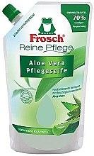Düfte, Parfümerie und Kosmetik Frosch Pure Care Liquid Soap - Handseife Aloe Vera (Doypack)