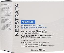 Düfte, Parfümerie und Kosmetik Anti-Falten Gesichtspeeling für den täglichen Gebrauch - NeoStrata Resurface Smooth Surface Daily Peel (Peeling/60ml + Wattepads/36 St.)
