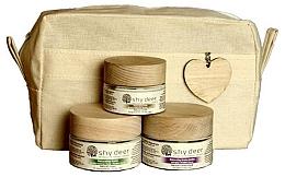 Düfte, Parfümerie und Kosmetik Gesichtspflegeset - Shy Deer Set (Gesichtscreme 50ml + Gesichtsmaske 50ml + Augencreme 30ml)